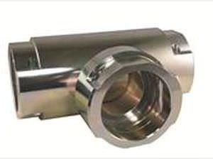 adaptador hidráulico / hembra-acanalado / compacto
