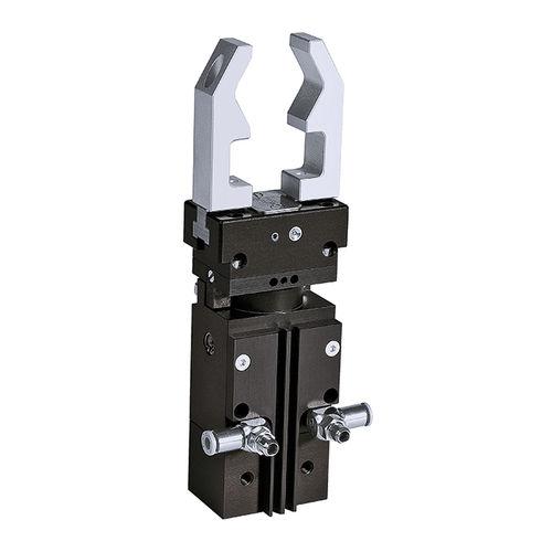 pinza de prensión rotativa / neumática / paralela / de 2 mandíbulas