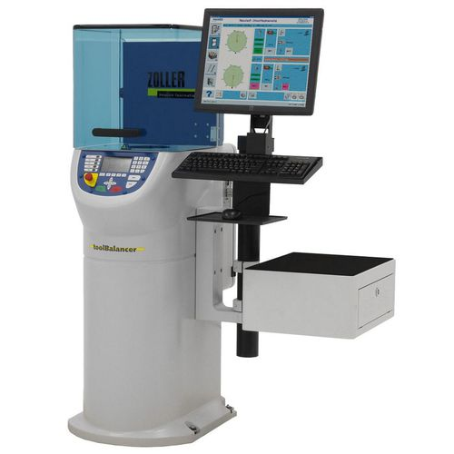 máquina equilibradora horizontal / dinámico / para herramienta de corte / modular