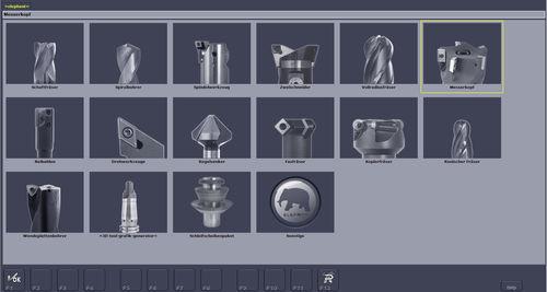 software de tratamiento de imágenes / para máquina de medición