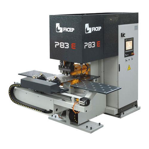 punzonadora CNC / hidráulica / para chapa / de taladrado