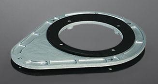 Brida de aluminio KTR