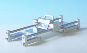 máquina de corte con cutter / de laboratorio