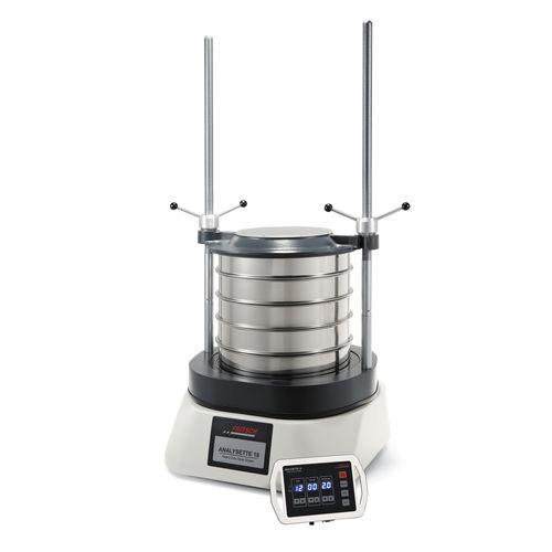 tamizadora de análisis para polvos / para aplicaciones farmacéuticas / de control / vibrante circular