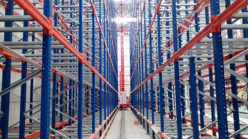 sistema de almacenamiento automático vertical / de paletas / para almacén