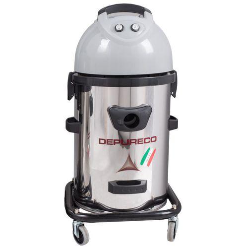 aspirador de agua y polvo / eléctrico / industrial / de acero inoxidable