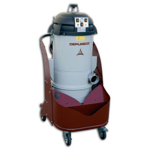aspirador de polvo / monofásico / industrial / compacto