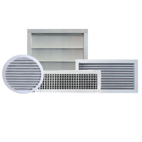 difusor de aire circular / cuadrado / de sección rectangular / de techo