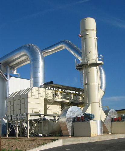 sistema de oxidación regenerativo / térmico / para reducir COV