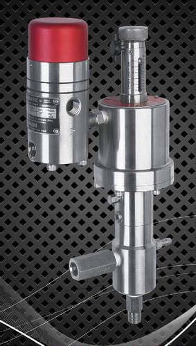 Bomba para productos químicos / neumática / de émbolo / de alto caudal max. 9 gph, 13 100 psi | V series Williams Milton Roy