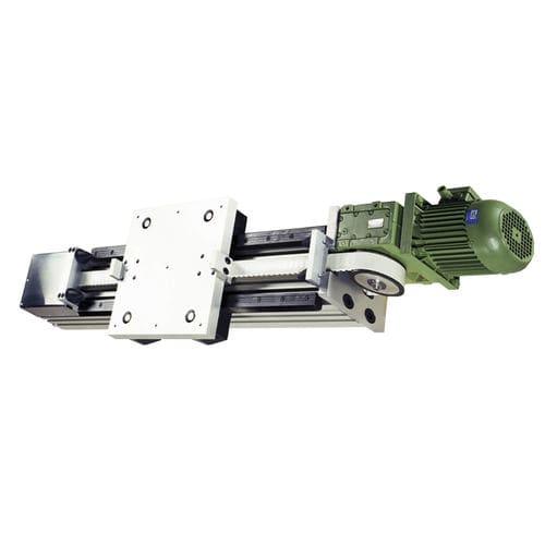 actuador lineal / eléctrico / de correa / para grandes cargas