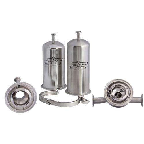 cárter de filtro de cartuchos múltiples / para aire / de acero inoxidable / sanitario