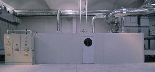 horno de secado / de cocción / térmico / de aire caliente