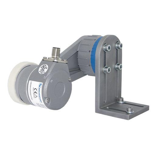 Sistema de medición de longitud / con ruedas de medición de 200 mm / con ajuste centralizado / compacto LMSMA32 Wachendorff Automation GmbH & Co. KG