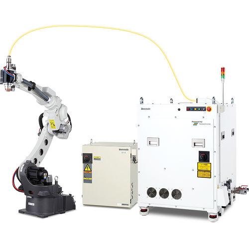 robot de soldadura por puntos / de soldadura al arco / de soldadura láser / compacto