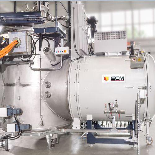 Horno de fusión / de cámara / de inducción / de vacío VIM furnace ECM Technologies