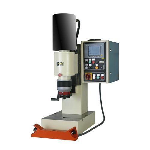 máquina de remachado semiautomática / neumática / radial / de sobremesa