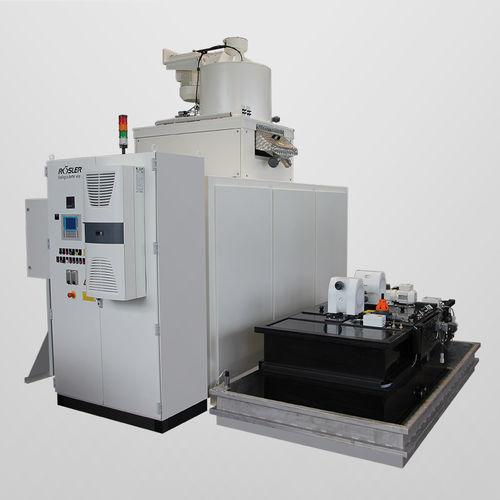 centrífugadora de proceso / de limpieza / vertical / automática