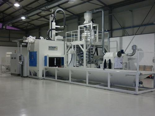 granalladora manual / para aplicaciones aeronáuticas / continua