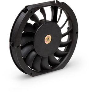 ventilador axial / de refrigeración / silencioso / plano