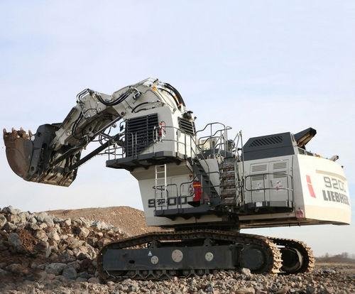 excavadora para minas y canteras - Liebherr Excavators