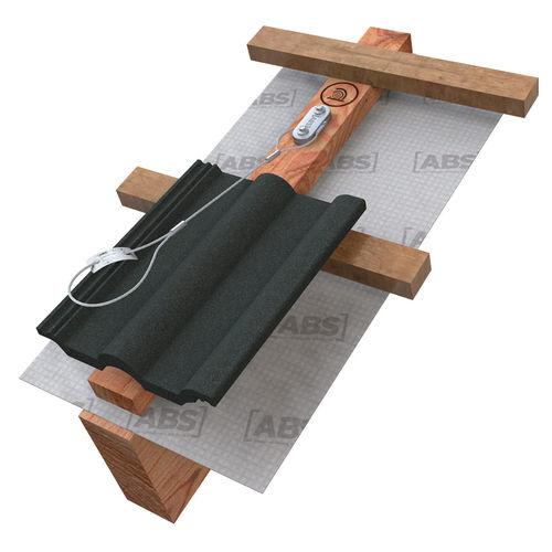 anclaje anticaída de acero inoxidable / para techado
