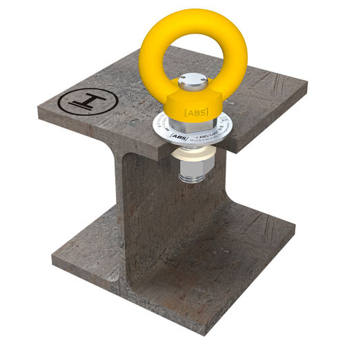 anclaje anticaída de acero / para estructura de hormigón armado / aéreo