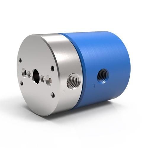 Racor giratorio para aire / para vacío / para gas / de 2 pasos LT 2 DSTI - Dynamic Sealing Technologies