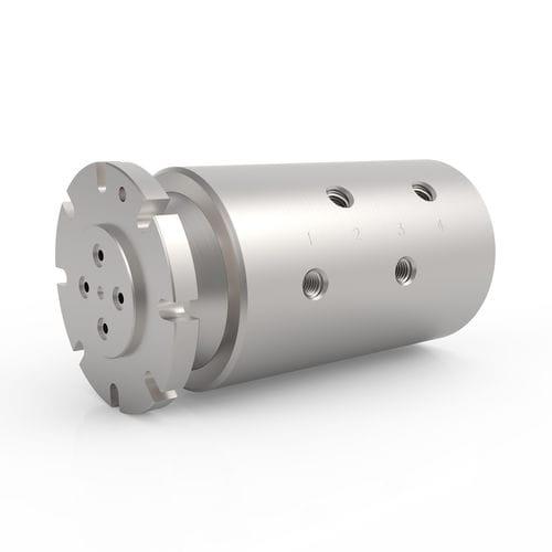 Racor giratorio para agua / para aceite / de 4 pasos / hidráulico HPS 4 DSTI - Dynamic Sealing Technologies