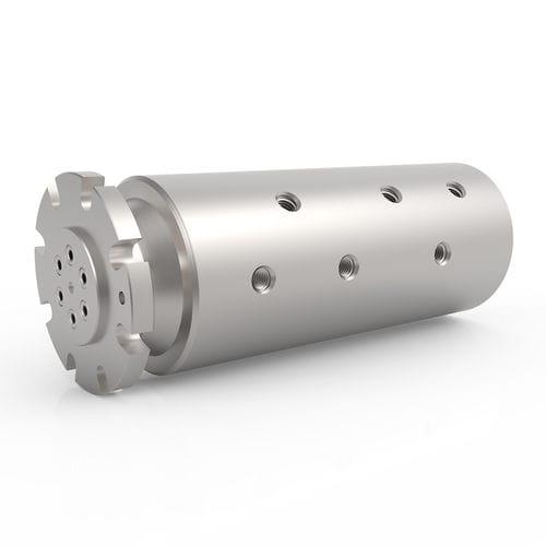 Racor giratorio para agua / para aceite / de 6 pasos / hidráulico HPS 6 DSTI - Dynamic Sealing Technologies