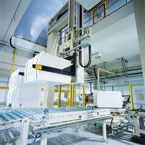 prensa de balas vertical / de carga por la parte superior / automática