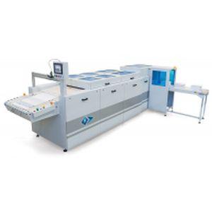 máquina plegadora de tejidos / automática