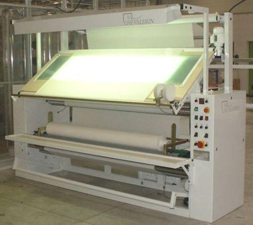 máquina de inspección de tejidos extensibles / con enrollador