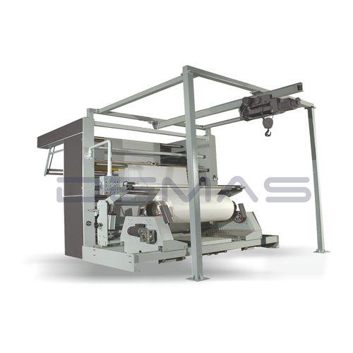 máquina de bobinado de tejidos / automática