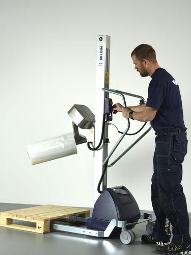 aparato de levantamiento para rollos - TAWI