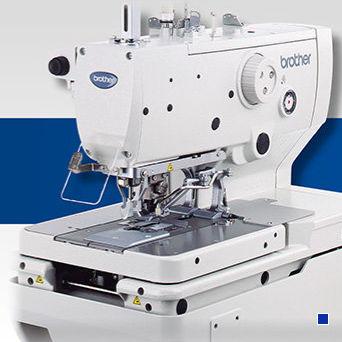 máquina de coser para ojales / punto de zigzag / punto de cadeneta doble / con cortahilos