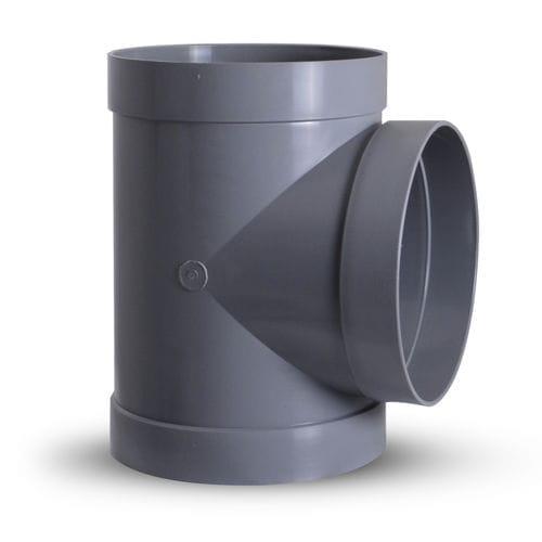 racor de encaje / en T / hidráulico / de plástico