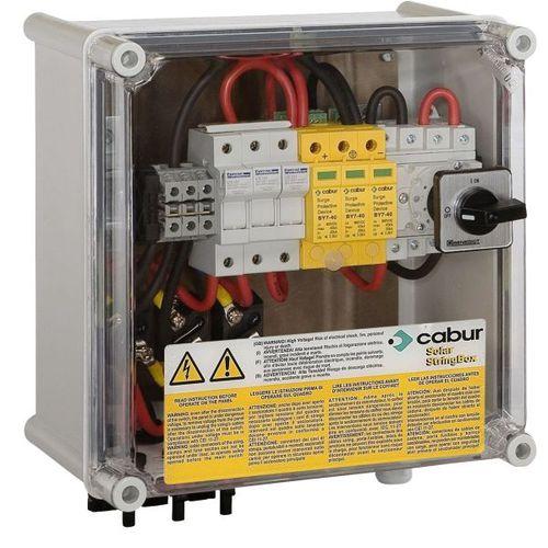 Caja eléctrica equipada / de policarbonato / para aplicaciones fotovoltaicas / para rack para distribución eléctrica StringBox series  Cabur