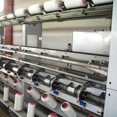 máquina de bobinado de hilado textil