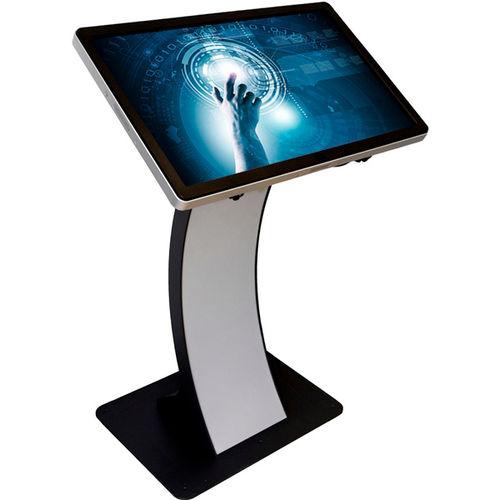 terminal con pantalla táctil / de kiosco / de pie / Full HD