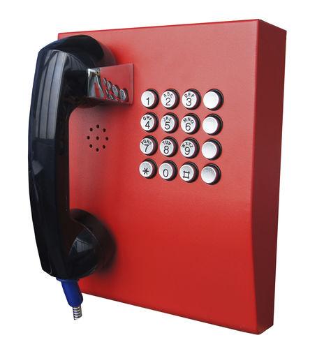 teléfono antivandalismo - J&R Technology Ltd