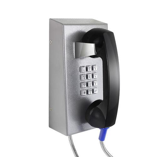 teléfono VoIP / IP67 / para aplicaciones ferroviarias / de acero inoxidable