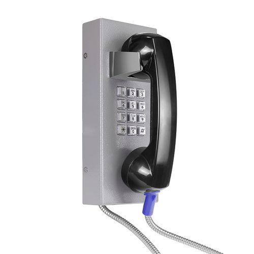 Teléfono analógico / IP54 / para aplicaciones ferroviarias / de acero inoxidable JR202-FK J&R Technology Ltd