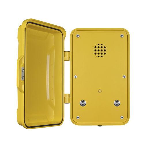 Teléfono VoIP / IP67 / para aplicaciones ferroviarias / para túnel JR102-2B J&R Technology Ltd