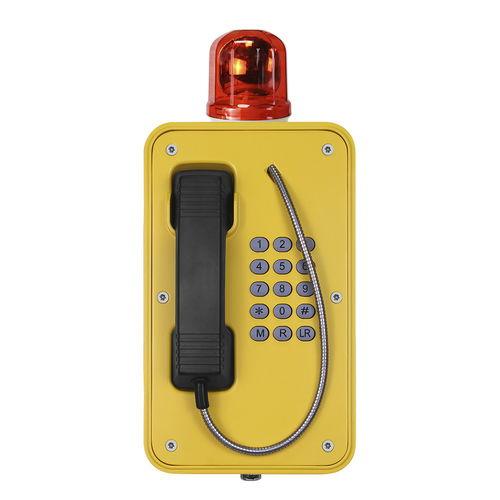 Teléfono VoIP / IP67 / para túnel / resistente a las intemperies JR103-FK-B J&R Technology Ltd