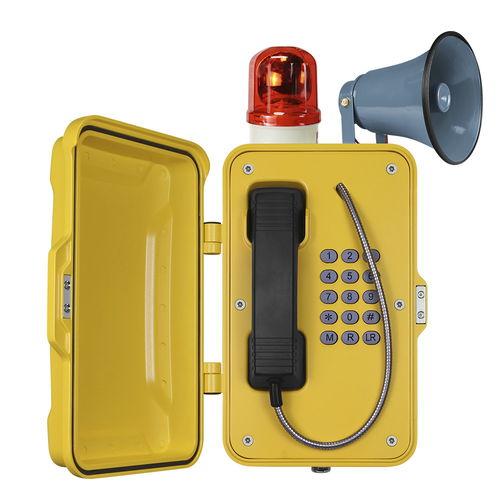 Teléfono analógico / IP66 / IP67 / para aplicaciones ferroviarias JR101-FK-HB J&R Technology Ltd