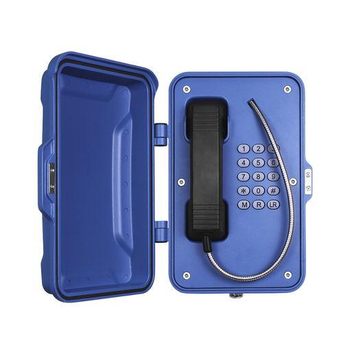 teléfono analógico / IP67 / para aplicaciones ferroviarias / para túnel