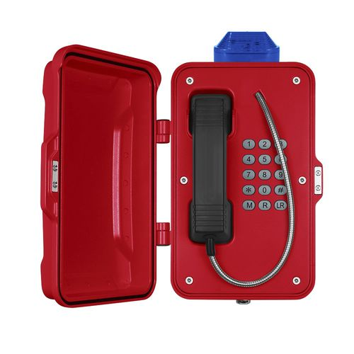 Teléfono VoIP / IP66 / para aplicaciones ferroviarias / para túnel JR101-FK-L J&R Technology Ltd
