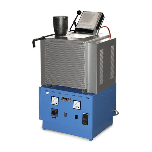 horno de fusión / de cámara / eléctrico / para metal no ferroso