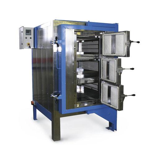 Horno de cámara / resistencia eléctrica / para la industria de la cerámica / para el trabajo del vidrio FI 550 SOLO Swiss & BOREL Swiss